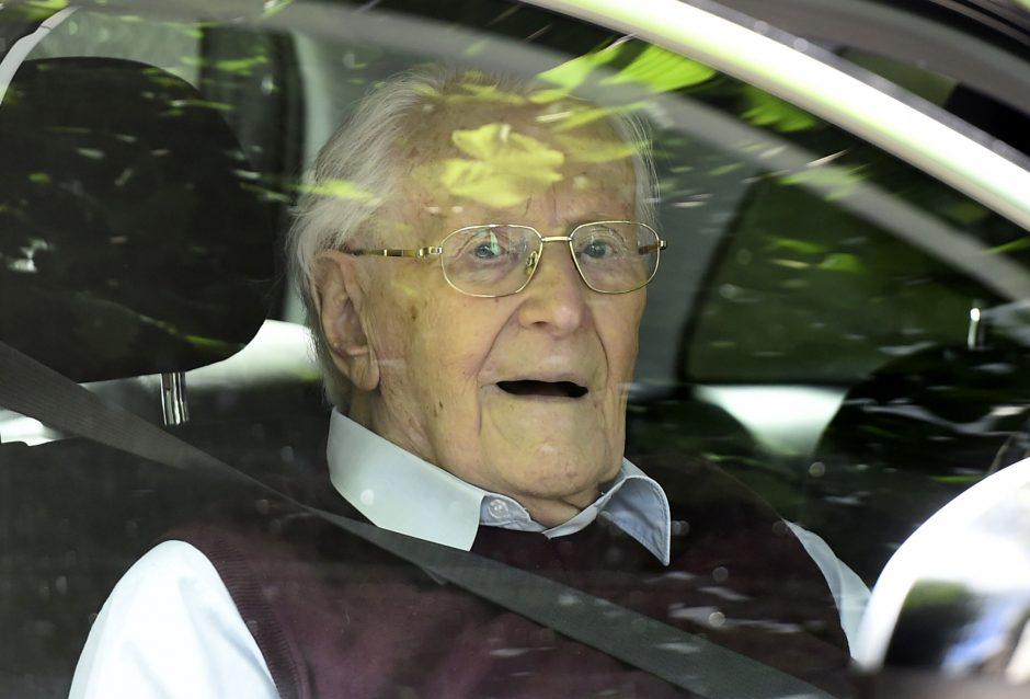 """Būdamas 96 metų mirė """"Aušvico buhalteris"""""""
