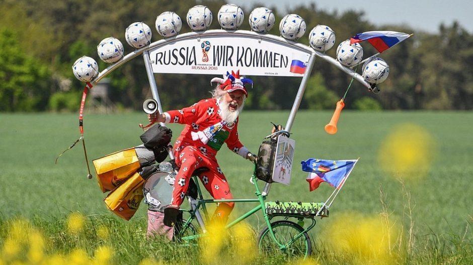 Rusija neįsileidžia Vokietijos žurnalisto į pasaulio futbolo čempionatą