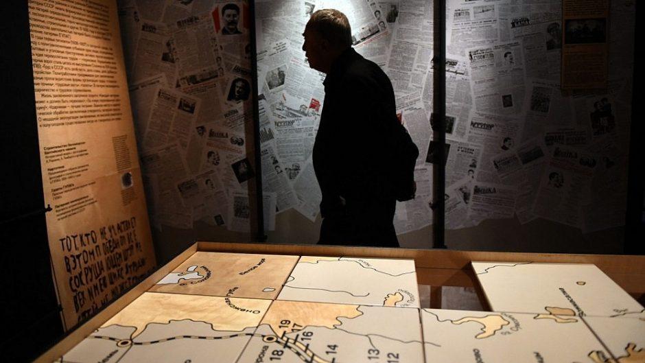 Spauda: Rusijos valdžia įsakė sunaikinti įrašus apie Gulago kalinius
