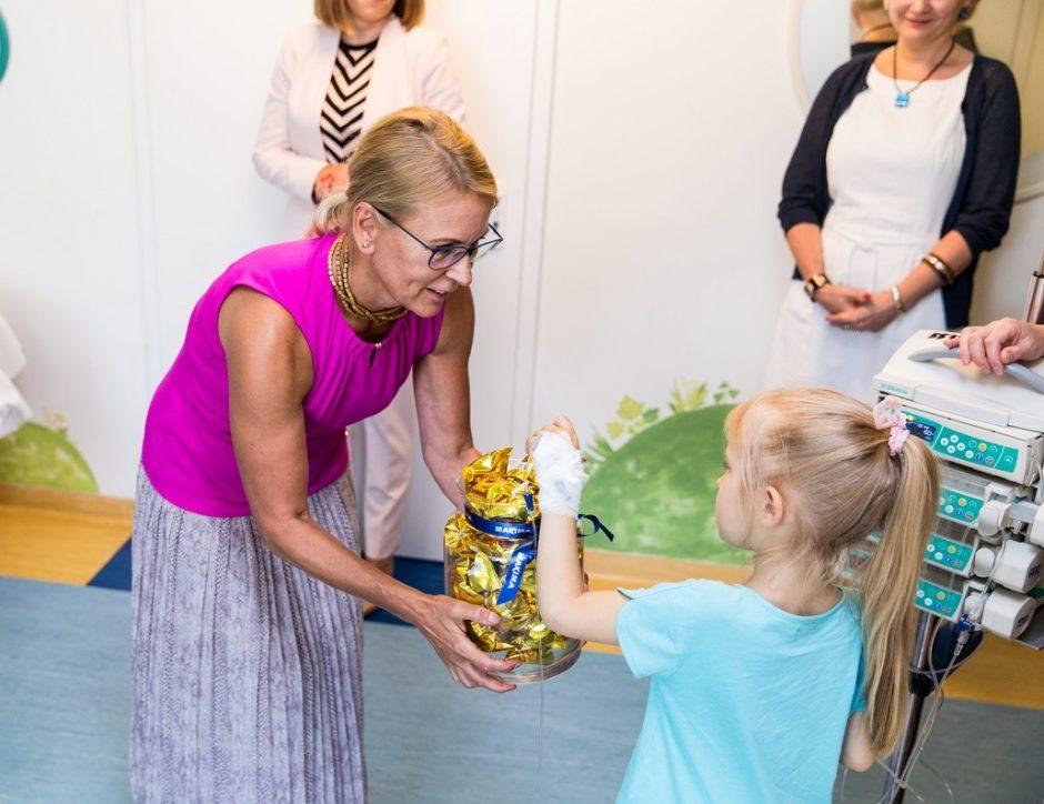 Onkologinėmis ligomis sergantiems vaikams – beveik 40 tūkst. eurų
