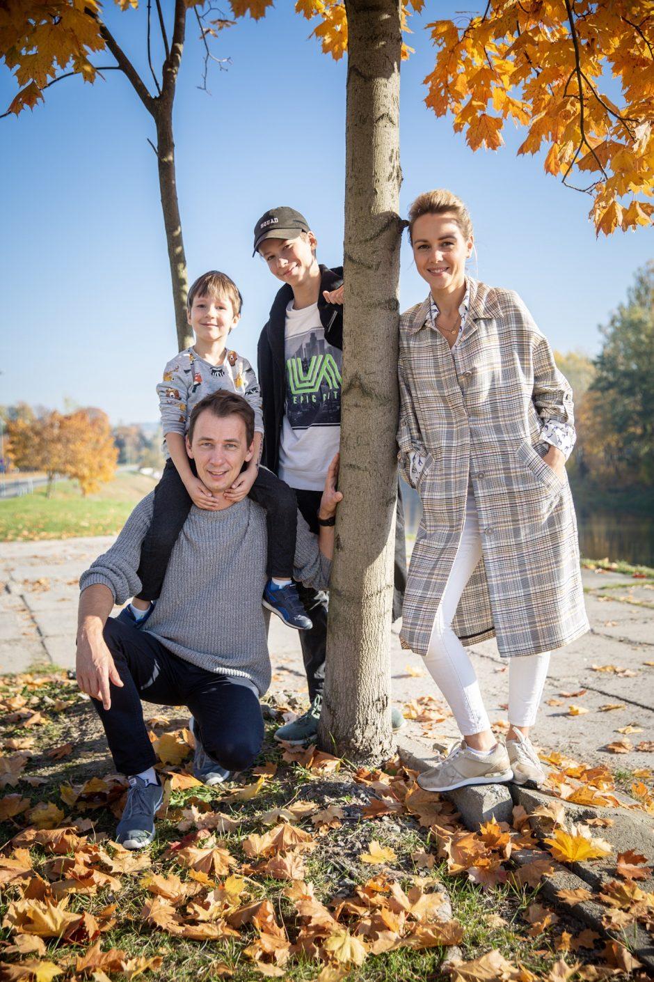V. Kernagio žmona Rima: vaikams reikia kuo mažiau trukdyti