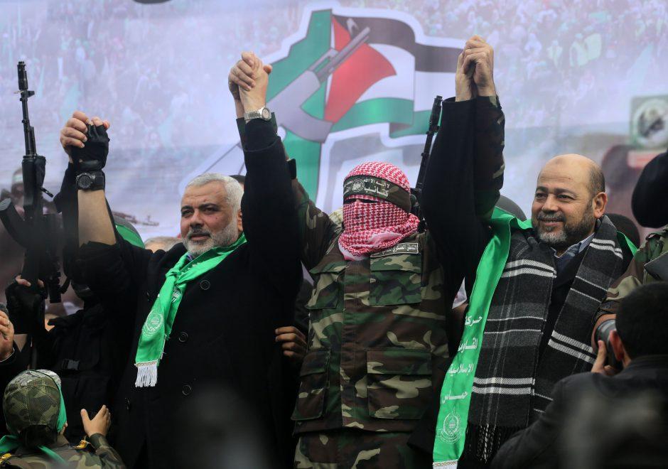 """Po D. Trumpo pareiškimo dėl Jeruzalės, """"Hamas"""" vadovas ragina skelbti sukilimą"""