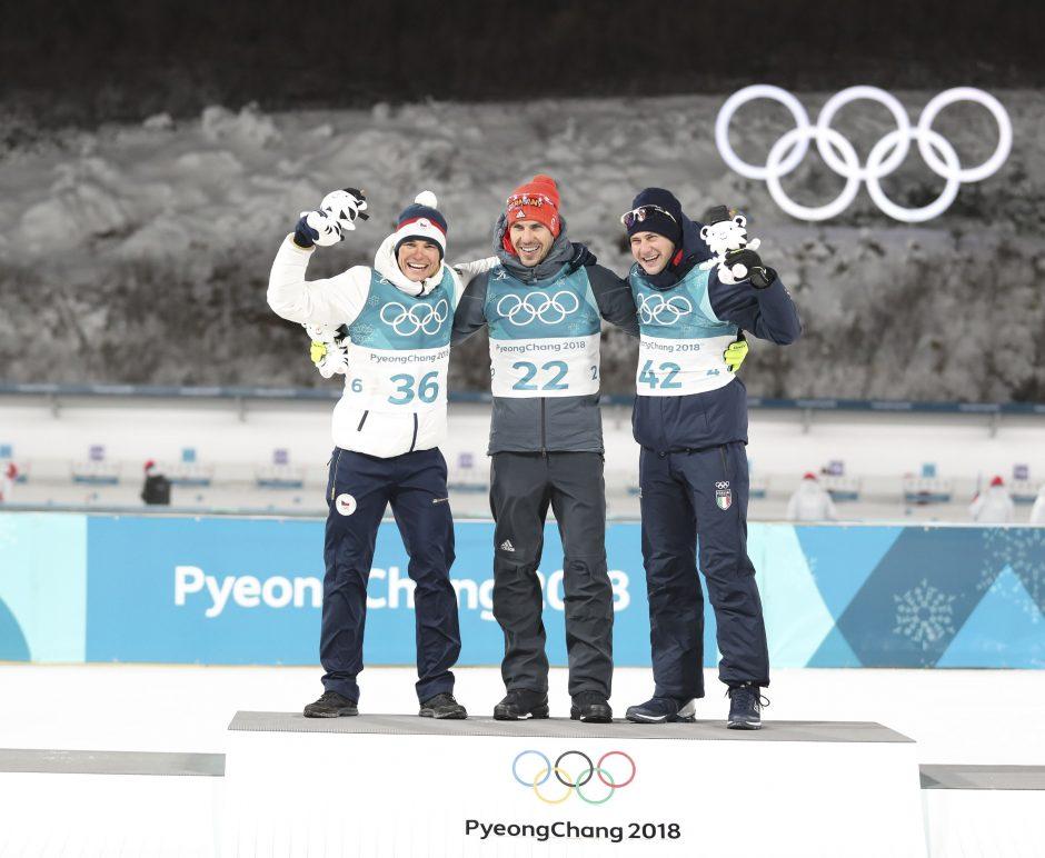 Pjongčango olimpinių žaidynių medalių įskaitos lydere lieka Vokietija