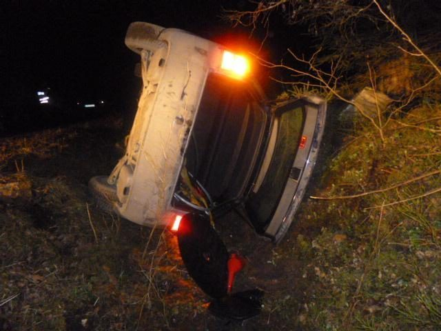 """Uostamiestyje girtas """"Audi"""" vairuotojas nulėkė į griovį"""