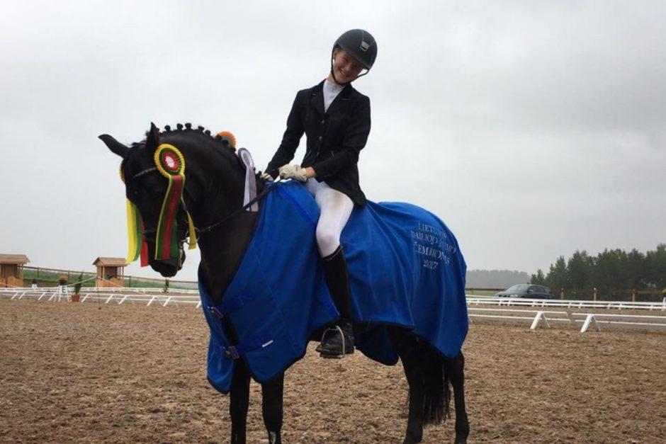 Europos čempionate Lietuvai atstovaus keturios jaunosios raitelės