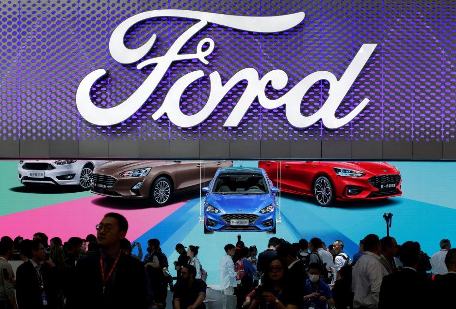 """""""Ford"""" pertvarka Europoje: atleis darbuotojus, neatmeta gamyklų uždarymo"""