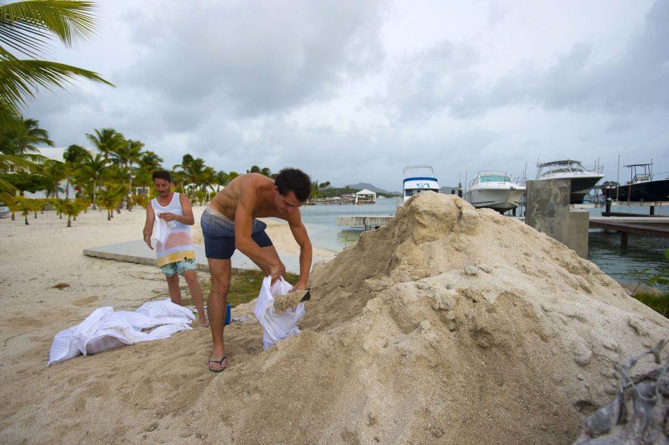 Turistui už smėlio vagystę skirta tūkstantinė bauda