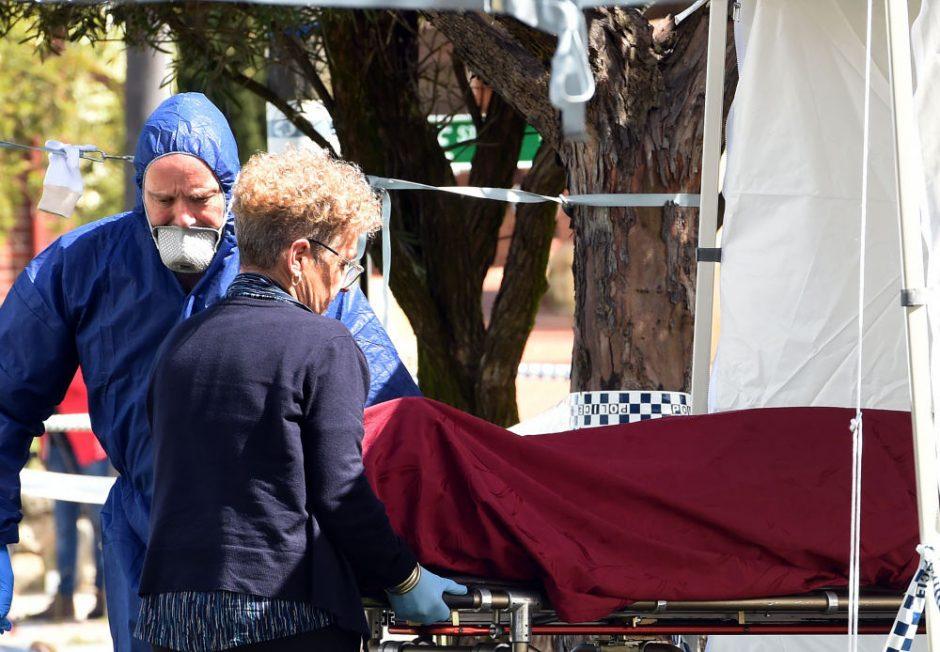Tragedija Australijoje: sulaikytas vyras užmiesčio name nužudė žmoną ir kūdikius