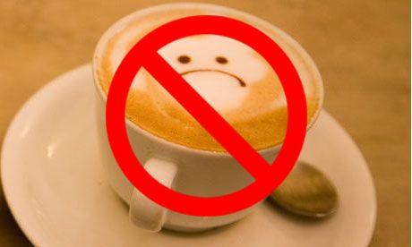 Sirgdami užmirškite pieną, kavą