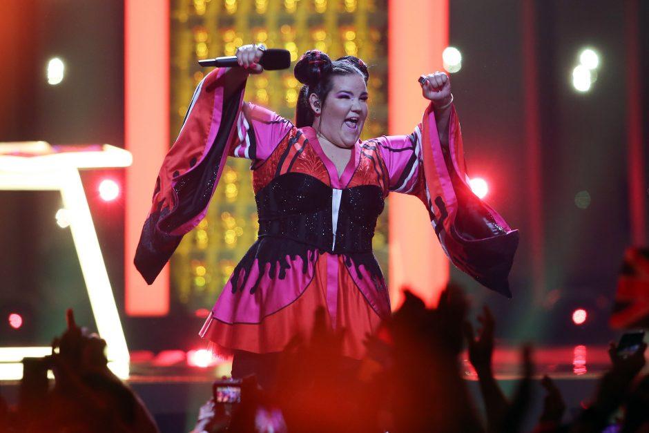 """Dešimtys užsienio kūrėjų ragina atšaukti """"Euroviziją"""" Izraelyje"""