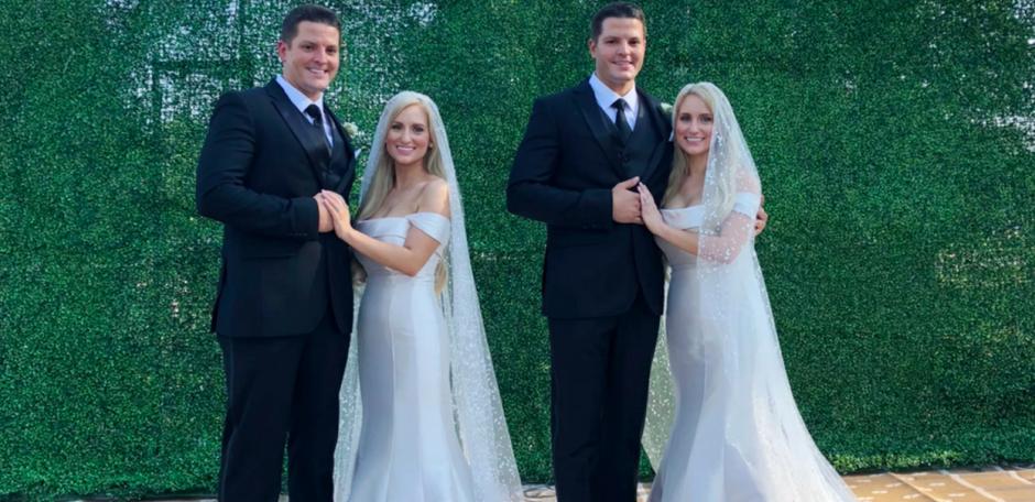Identiškos dvynės susituokė su identiškais dvyniais: ketvertas planuoja gyventi kartu