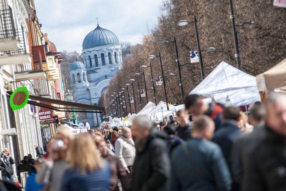 Kaune ir vėl šurmuliuos pavasario mugė (kviečia registruotis)
