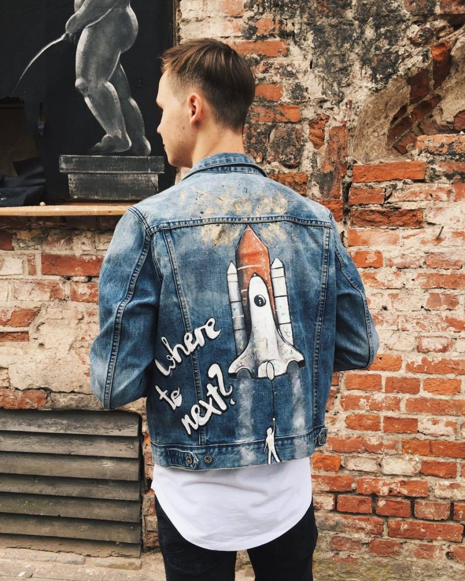 Mados klyksmas – paveikslai, atgimstantys ant drabužių