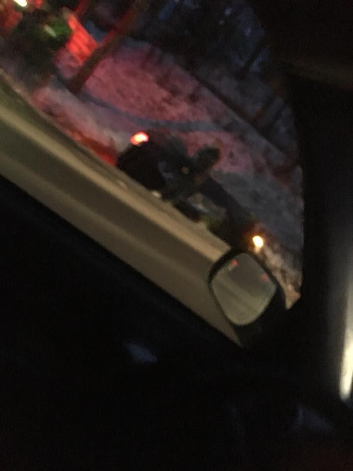 Marijampolės plente – dviejų mašinų avarija, viena jų nulėkė į griovį