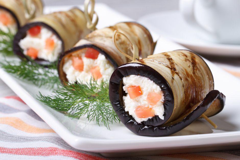 Rudeniniam stalui – baklažanų patiekalai (keturi receptai)