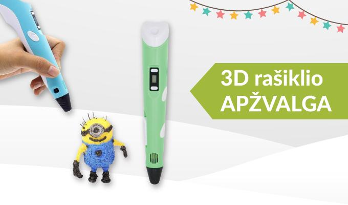 3D rašiklis – naujas hitas?