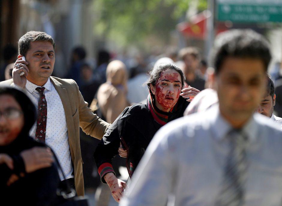 Sprogdinimo Kabule aukų padaugėjo iki 90