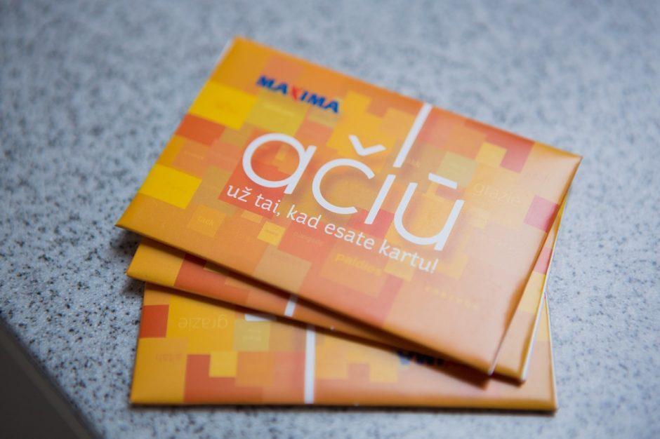 """""""Maxima"""" stiprina klientų duomenų apsaugą: ką turi žinoti """"Ačiū"""" kortelių turėtojai?"""