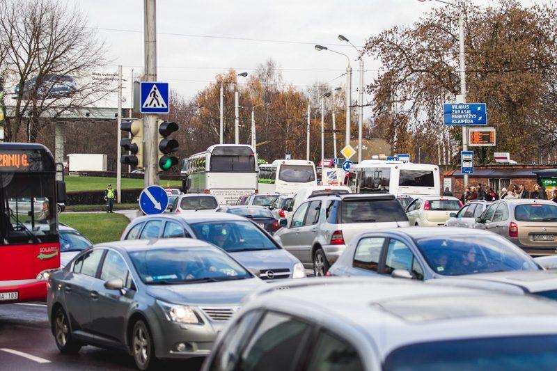Rado būdą, kaip Kauno centre sumažinti eismo spūstis