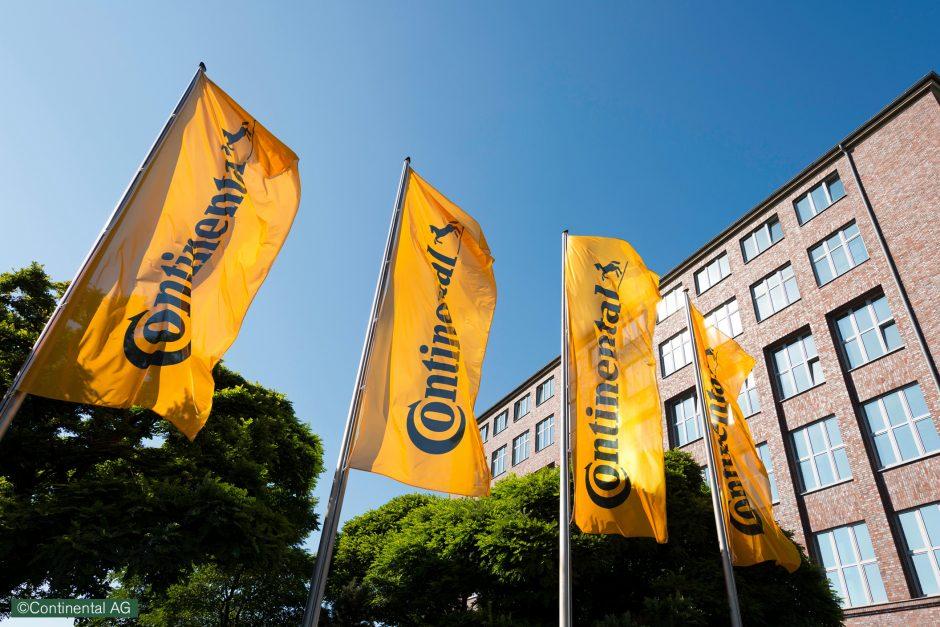 """""""Continental"""" į naują gamyklą Kaune investuos 95 mln. eurų"""