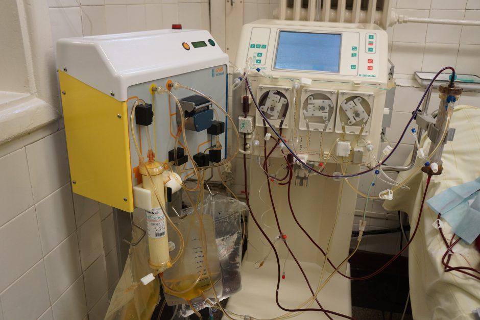 Kauno klinikose pradėta taikyti dviguba plazmos filtracija