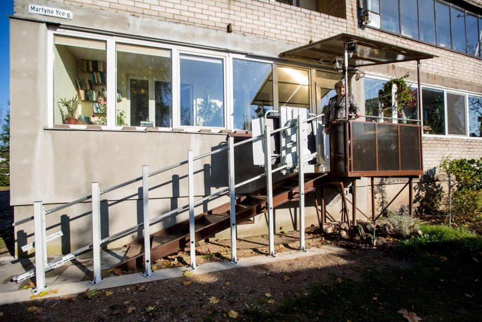 Būsto pritaikymas palengvina neįgaliųjų ir jų artimųjų buitį