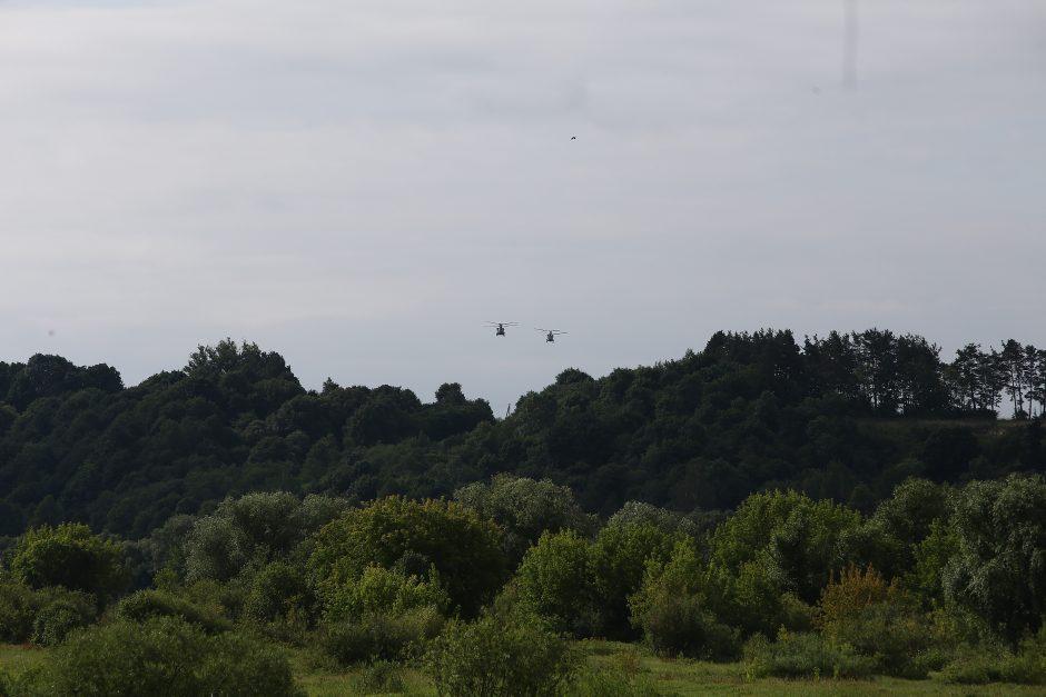 """Pratybos """"Kardo kirtis 2018"""" Kauno rajone"""