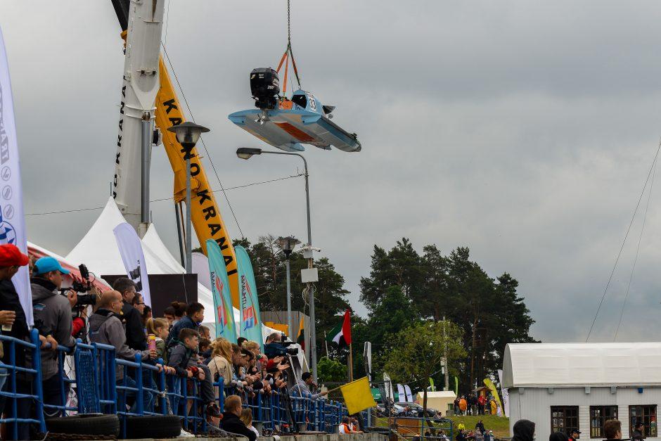 Pasaulio vandens formulių F2 čempionato startas – vėl Kaune