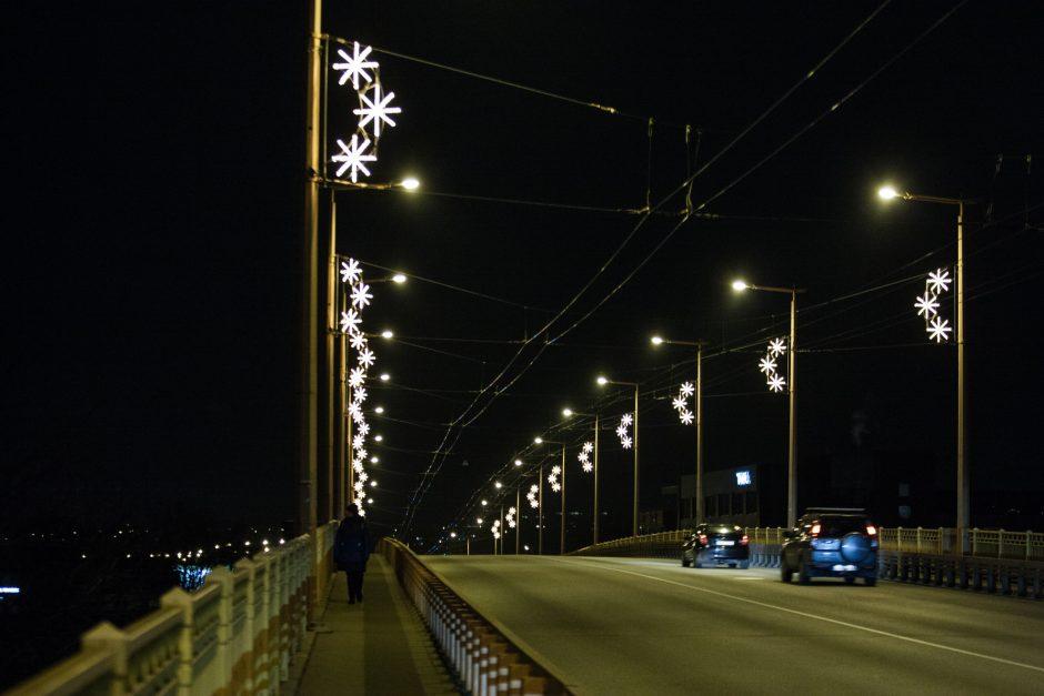 Kaunas pradeda puoštis artėjančioms šventėms
