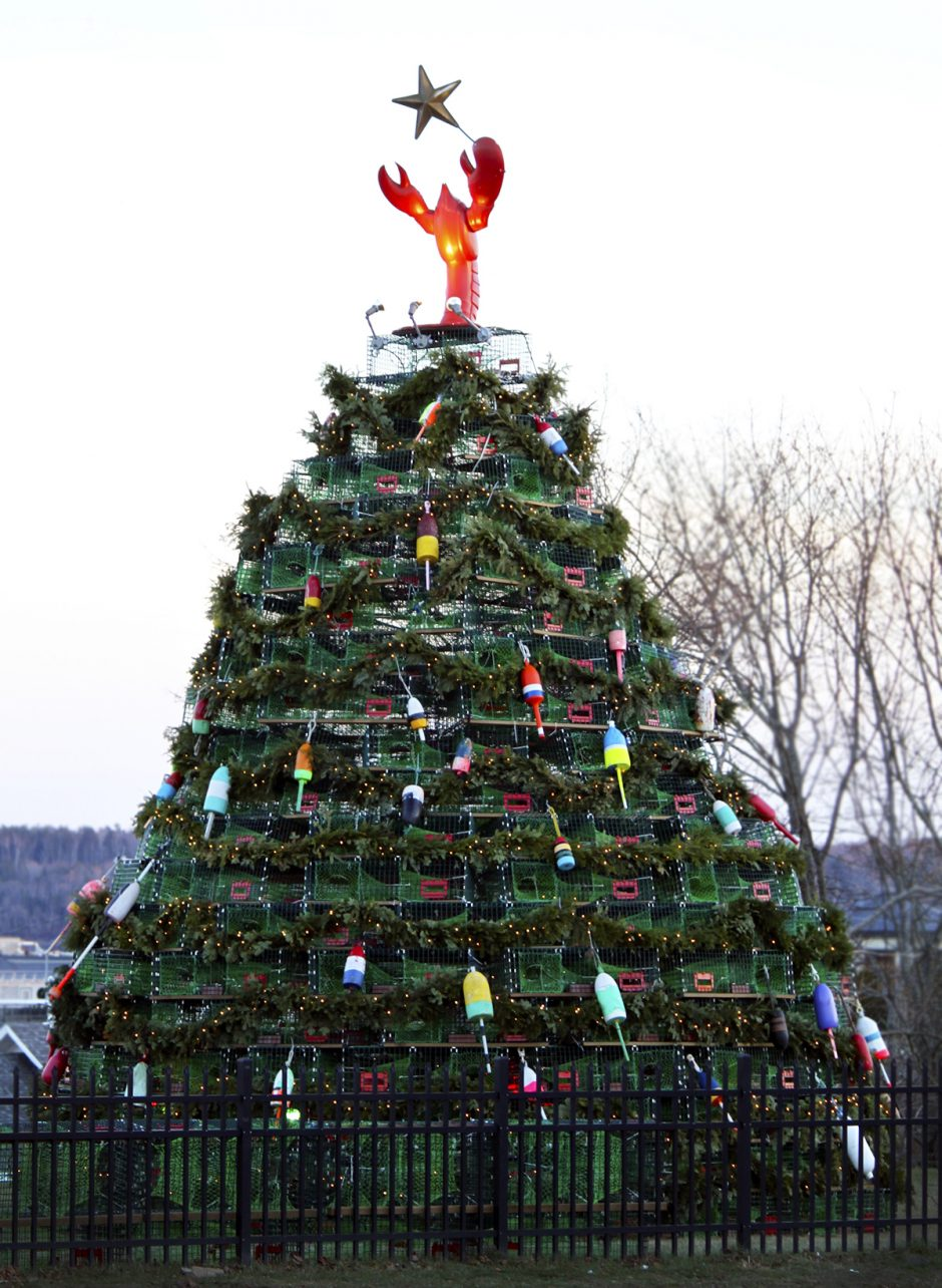 Tarp unikalių pasaulio kalėdinių eglučių – ir lietuviškos