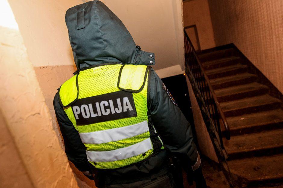 Klaipėdiečio bute policininkai paryčiais rado kvaišalų