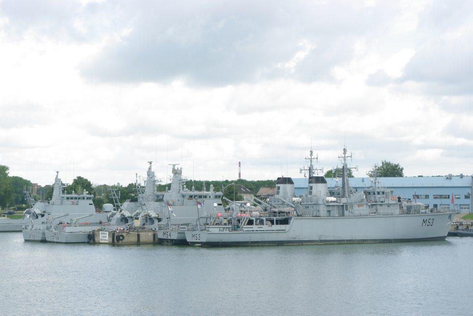 Karo laivų krantinėse Klaipėdoje statys naują akumuliatorių pastatą