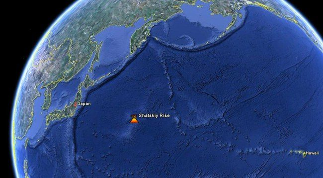 Geofizikai Ramiajame vandenyne atrado didžiausią ugnikalnį Žemėje