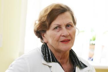 Mirė buvusi ilgametė Tuberkuliozės ligoninės vadovė V. E. Baravykienė