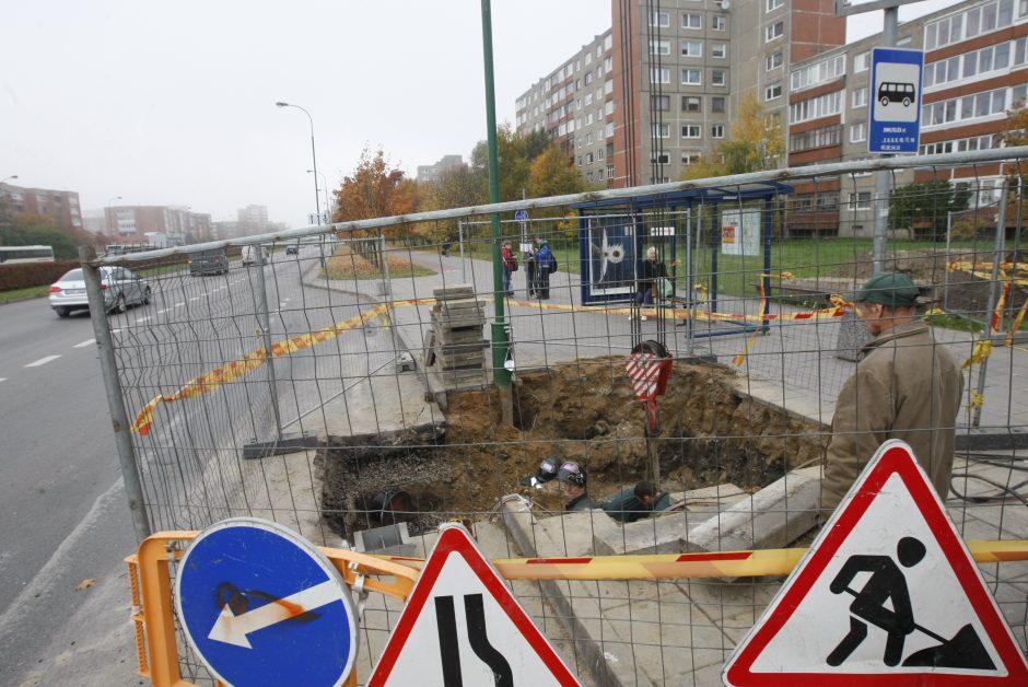 Klaipėdoje baigiama rekonstruoti šilumos trasas