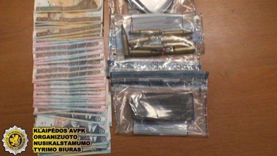 Klaipėdoje bus teisiami narkotikų platintojai