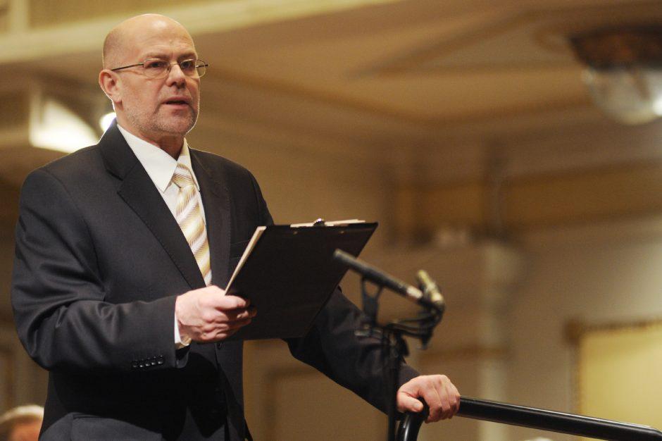 """Legendos"" Palangoje: muzikologas V. Gerulaitis kalbins maestro J. Domarką"
