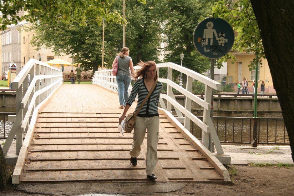Per Danę – naujas tiltas