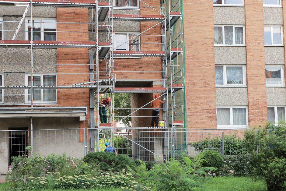 Klaipėdos gyventojų daugiabučių namų renovacija nesudomino