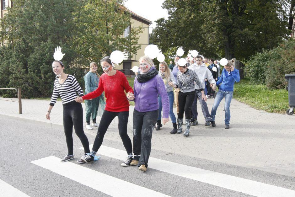 Miesto centre vyks Klaipėdos universiteto pirmakursių krikštynos