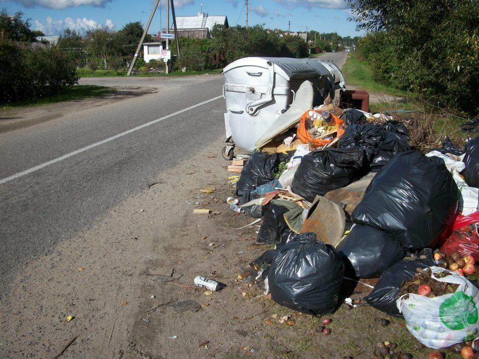 Tarp Dituvos gyventojų ir atliekų vežėjų kilo konfliktas
