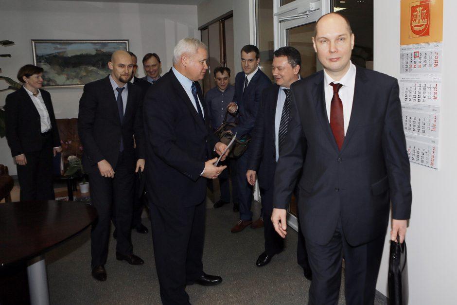 Maskva dairosi į Klaipėdą