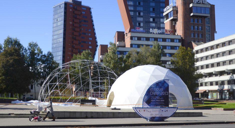 "Klaipėdoje festivalyje ""InNovaCamp"" – mokslas sėkmei ir linksmybėms (programa)"