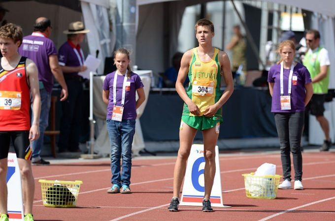 Klaipėdietis bėgikas B. Mickus drąsiai gali vadintis greičiausiu Lietuvos 16-mečiu