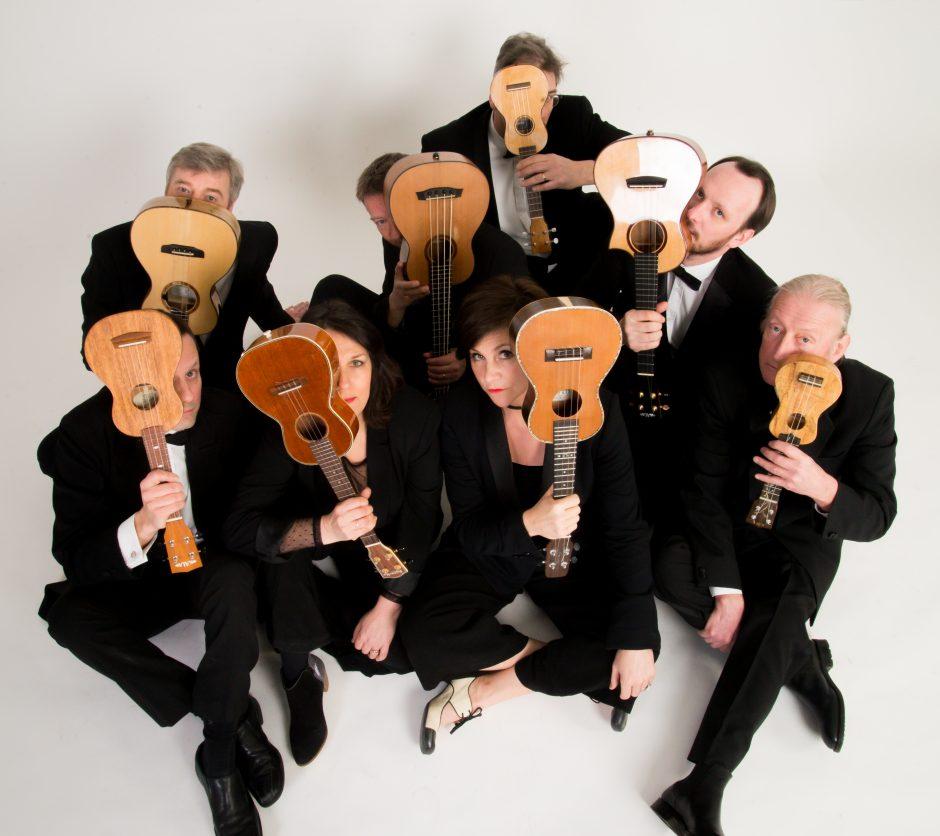 Ukulelių orkestras: geriausia iš to, kas britiška