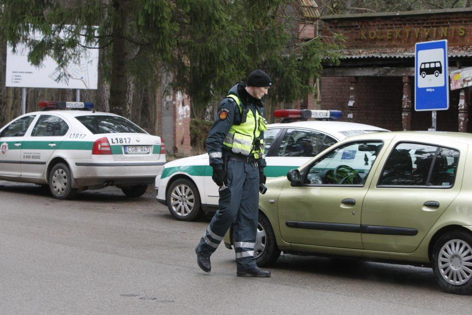 Pažado policininkui netesėjo – vairavo girtas