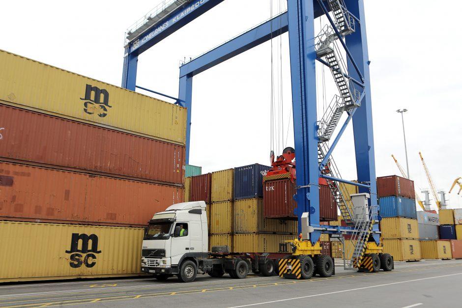Klaipėdos uosto apyvarta padvigubės iki 80 mln. tonų?