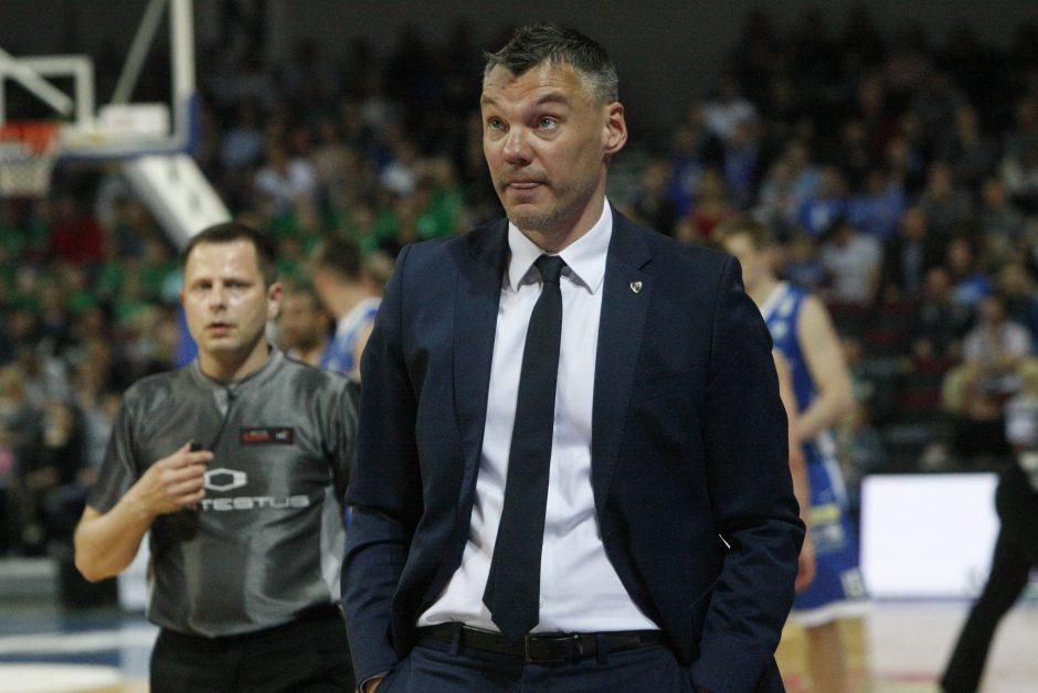 FIBA siūlomas kompromisas Šaro nuomonės nekeičia: tai – absurdas