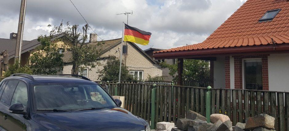 Klaipėdoje – Vokietijos teritorija?