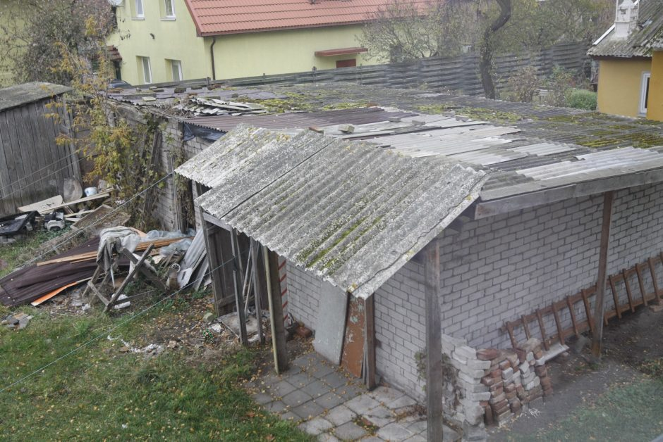 Klaipėdos miesto centre – šiukšlynas